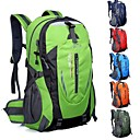 40L L バックパッキング用バックパック / ハイキング用デイパック キャンピング&ハイキング / 釣り / 登山 / 狩猟 / 旅行 / サイクリング 屋外 / レジャースポーツ 防水 / 耐久性 / 多機能の グリーン / レッド / ブラック / ブルー / パープル