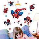 nástěnné samolepky na stěnu, spiderman sbírka pvc samolepky na zeď