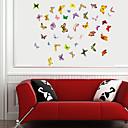 samolepky na zeď na stěnu, motýl zatřepetá pvc samolepky na zeď