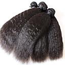 proizvodi za kosu brazilski kinky ravne djevičansko kosu 3pcs djevica Brazilski kinky ravna kosa nema prolijevanja