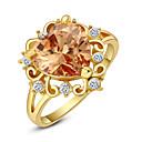 Prstenje Moda Vjenčanje / Party Jewelry Legura Žene Prstenje sa stavom 1pc,Univerzalna veličina Zlatna