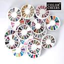 20 PCS Nail Art Dekoration Wheels
