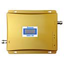 dual band gsm 3g opakovač signálu 900MHz 2100MHz WCDMA zesilovač signálu 3g mobilní telefon booster UMTS LCD displej