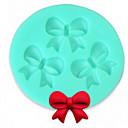 bakeware silikon luk pečenje kalupi za Fondant bombona čokoladna torta (slučajni boja)