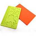 silikonové formy na pečení fondant / čokoládový / dort zdobení formy (náhodné barvy)