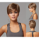 ピクシー·カットは、女性のための短い直線の合成かつらをヘアスタイル