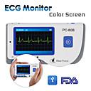 léčit síla pc-80B přenosný srdce EKG elektrokardiogram electro barevný monitor sonda ce schválit