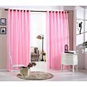 Zemlja curtains® jedna ploča ružičaste čvrste dvostruki sloj zavjese ogrnuti
