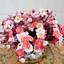 vysoce kvalitní umělé květiny světlé barvy pivoňka hedvábí květina pro svatby a dekorativní