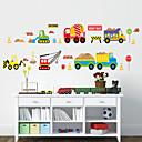 nástěnné samolepky lepicí obrazy na stěnu ve stylu kreslený auto PVC samolepky na zeď