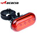 自転車用ライト / 後部バイク光 / 安全ライト - - サイクリング コンパクトデザイン ボタン電池 ルーメン バッテリー サイクリング-アカシア®
