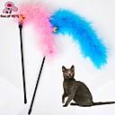 猫用品 ペット用おもちゃ ティーザー / 猫じゃらし ベル ランダムカラー 織物