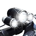 照明 自転車用ライト LED ルーメン 4.0 モード Cree XM-L T6 / Cree R2 18650 防水 / 充電式 キャンプ/ハイキング/ケイビング / 日常使用 / サイクリング / 狩猟 / 釣り / 旅行 / 屋外アルミ合金 / プラスチック /