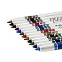 Tuš za oči Pencil Wet Volumized / Dugo trajanje / Prirodno / Brzo kemijska / Prozračnost
