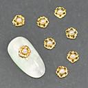 10ks móda slitina vykládané perla 3D nail art dekorace