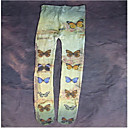 ソックス/ストッキング 甘ロリータ ロリータ ロリータ ブルー / アイボリー ロリータアクセサリー ストッキング プリント のために 女性 コットン