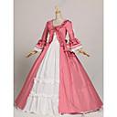 steampunk®princess ružičasta i bijela kolonijalnog razdoblja haljina lopta haljina uprizorenje kazalište odjeća