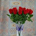 fotografije rekvizite poliester ruže umjetnog cvijeća (1pc)