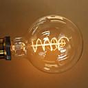 40watů E27 retro styl průmysl transparentní žárovka