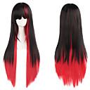 Dovolená módní, musí mít kvalitní holka dlouhé rovné vlasy paruku