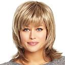 Unikátní vrstvená lidský panna Remy střední délky rukou uvázanou top ženského vlasy paruky
