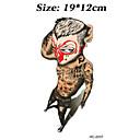 Brand New - タトゥーステッカー - Non Toxic / パターン / Halloween / 大きいサイズ / トライバル風 / 腰 / Waterproof - 女性 / 男性 / 大人 / 青少年 - 紙 - 12cm(W)*19cm(L) - パターン