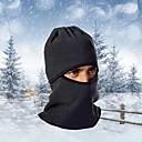 Skijaška zaštitna kapa maskirne kape Bicikl Prozračnost Ugrijati Vjetronepropusnost Prašinu Žene Muškarci Crn Runo