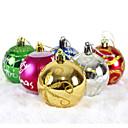 """6pcs / set 6cm / 2.4 """"mješoviti boja i stilova božićno drvce ukrasima viseće sjajne bubles loptu stranačke Božić ukrasa"""