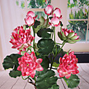 Polyester Lotos Umjetna Cvijeće