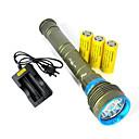 LED svjetiljke LED 3 Način 10800 Lumena Vodootporno / Može se puniti / Otporan na udarce / štrajk oštrica / Taktički / Hitan Cree XM-L2