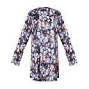 Ležérní kulatý tvar - Dlouhé rukávy - ŽENY - Dresses ( Polyester )
