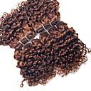 halloween 4 ks kudrnatá lidské vlasy spřádá Brazilec textura lidské vlasy spřádá kudrnaté