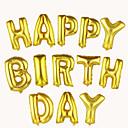 16inch vícebarevný fólie dopis balóny 10ks písmeno tvaru balóny strana