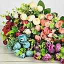 Polyester Růže Umělé květiny