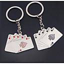 Metalni ispirač poker privjesak kreativni personalizirane daljinski ključ