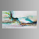 キャンバスセット 抽象的な風景画 Modern / トラディショナル / クラシック / 欧風,1枚 横長 版画 壁の装飾 For ホームデコレーション