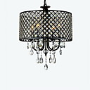 Max 60W Modern/Comtemporary / Bubanj Crystal Chrome Lusteri Living Room / Bedroom / Dining Room / Study Room/Office