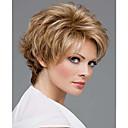 vysoce kvalitní módní v krátké rovnou blond barva paruka žena syntetické paruky vlasy