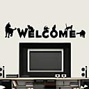 Životinje / Riječi i citati / Moda Zid Naljepnice Zidne naljepnice , PVC 45*60 cm (17.7*23.6 inch)