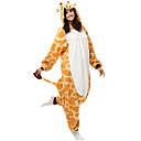 Kigurumi Pidžame Žirafa Hula-hopke/Onesie Halloween Zivotinja Odjeća Za Apavanje Bijela Kolaž Flis Kigurumi UniseksHalloween / Božić /