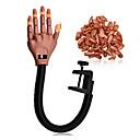 個人的な爪の先端とのプロのネイルトレーナーツールスーパー柔軟な指&サロン調整可能なトレーニングの練習の手