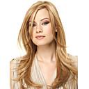 bez krytky vysoce kvalitní docela střední rovnou blond barva syntetická paruka