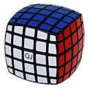 Qiji® スムーズなスピードキューブ 5*5*5 スピード マジックキューブ 黒フェード プラスチック