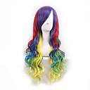 cos vlasulja četiri gradijent boja Japan originalna sufeng kovrčava kosa perika