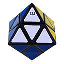 Qiji® Glatko Brzina Kocka Alien Brzina Magične kocke Crna Fade Plastika