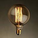 E27 40W g125 ravna žica velika žarulja žarulja Edison retro dekorativne žarulje