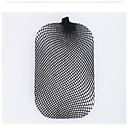 móda průtažné pružné síťky na vlasy snood žen nylon paruka cap černý 2ks