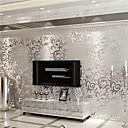 Art Deco Tapeta Suvremena Zidnih obloga , Netkani papir Materijal Ljepila potrebnaSoba dekoracija ili zaštita za zid