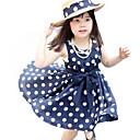 女の子の コットン混 ドレス , 夏