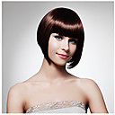 Visoka temperatura žene dama modni kratka ravna sintetičke kose